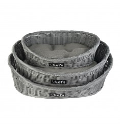 HOLLAND LET'S SLEEP PET BED GREY