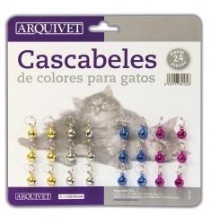 ARQUIVET CASCABEL GATO COLOR 24 UNID.