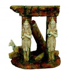 ARQUIVET DECORACION COLUMNAS EGIPCIAS 14,5X11,5X16