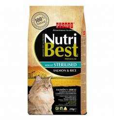 NUTRIBEST CAT ADULT STERILISED S&R