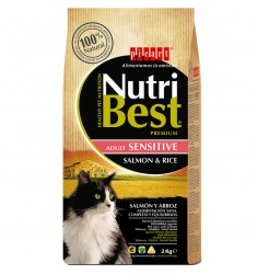 NUTRIBEST CAT ADULT SALMON&RICE