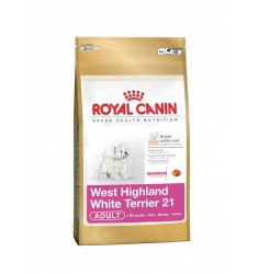 Pienso Royal Canin West Highland White Terrier 21 Perro