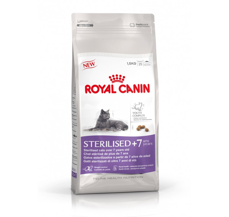 pienso royal canin sterilised 7 gato. Black Bedroom Furniture Sets. Home Design Ideas